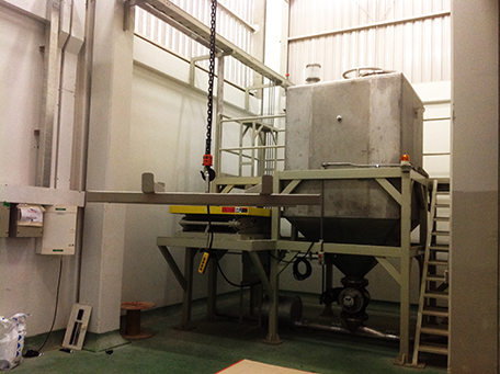 Big Bag Unloading Station With Plateform And X Lift